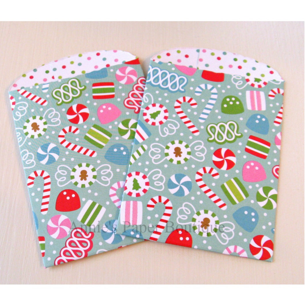 Christmas Candy Paper Pockets
