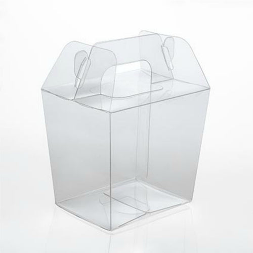 Small Take Out Boxes - Clear Boxes - Gable