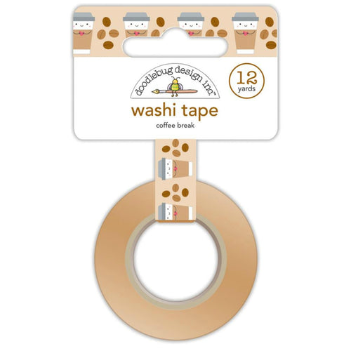 Coffee Break Washi Tape