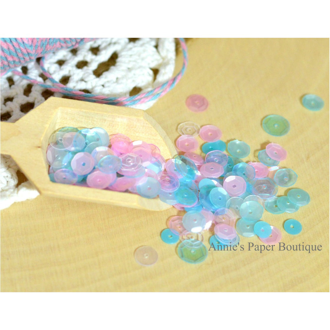 Cotton Candy Sequins