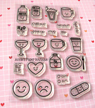 Drinks & More Planner Stamps - 4x6