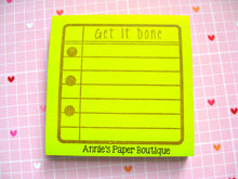 Get It Done Planner Stamp Set - 4x6