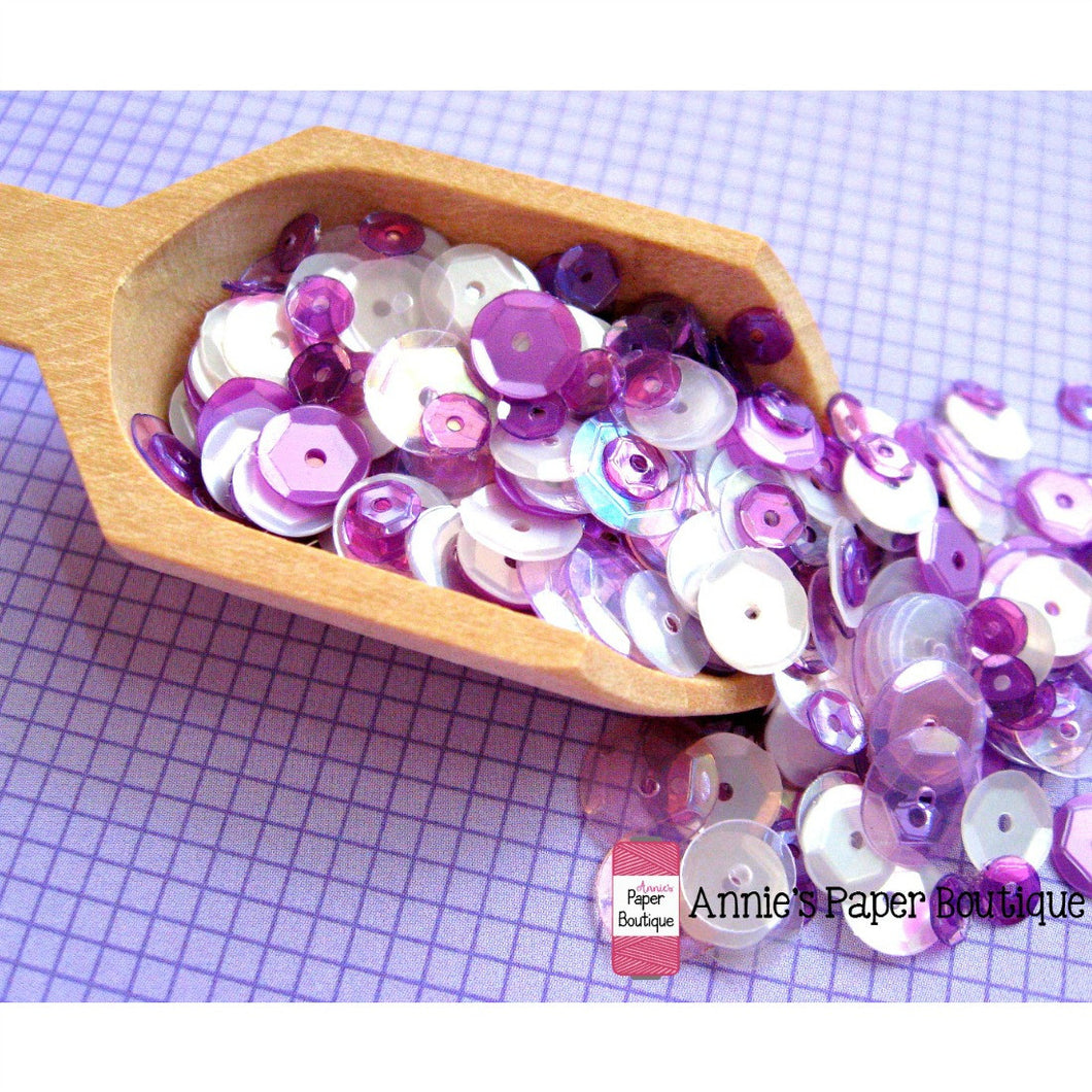 Grape Fizz Sequins