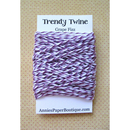 Grape Fizz Trendy Bakers Twine Mini - Purple, Lavender, and White