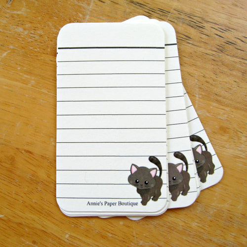 Black Kitty Journaling Cards
