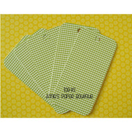 Green Gingham Tag-Its