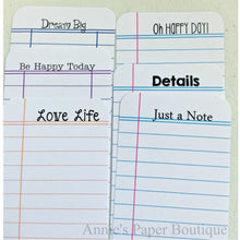Happy Thoughts - Journaling Cards
