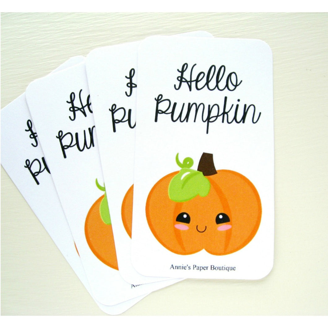 Hello Pumpkin Mini Messages