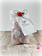 Hello Santa Clear Christmas Stamps and Treat Bag