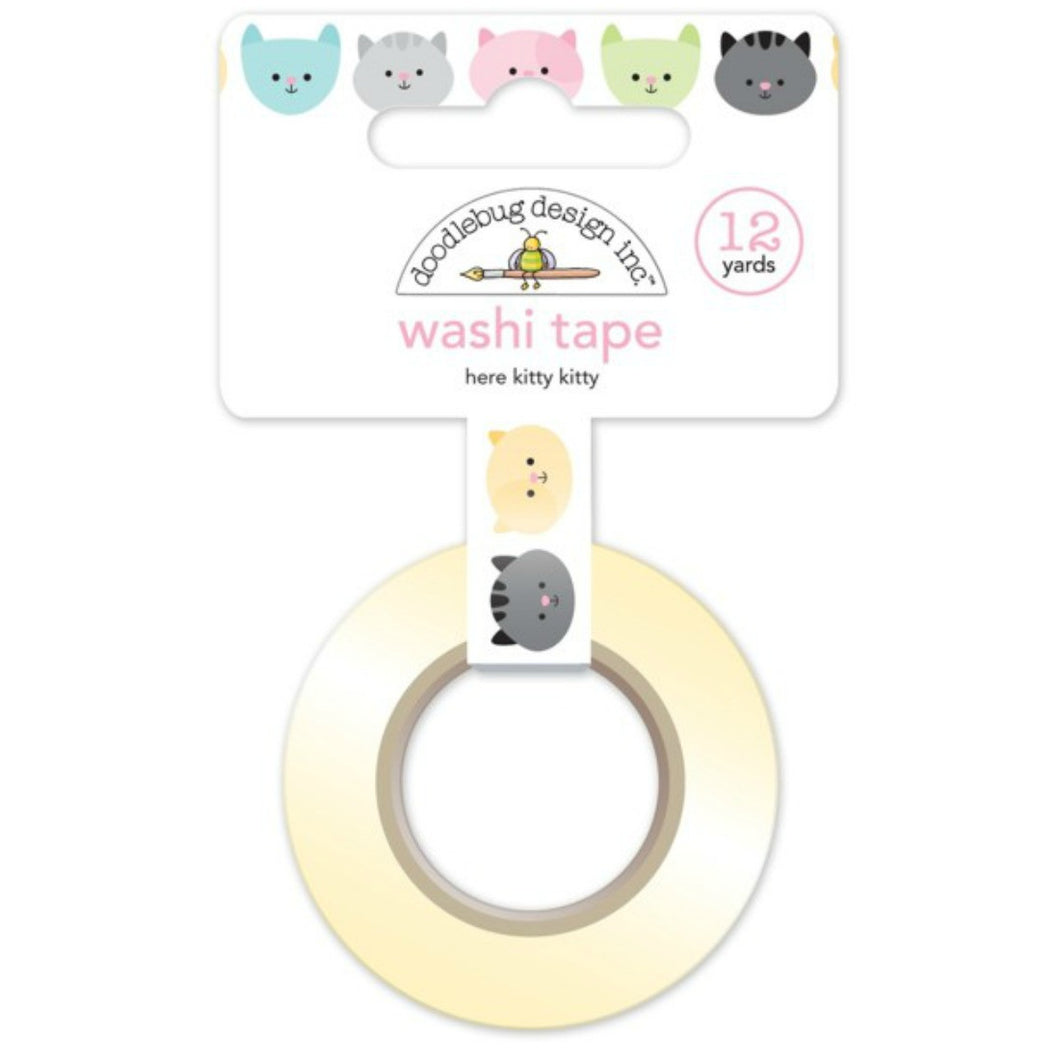 Here Kitty Kitty Washi Tape