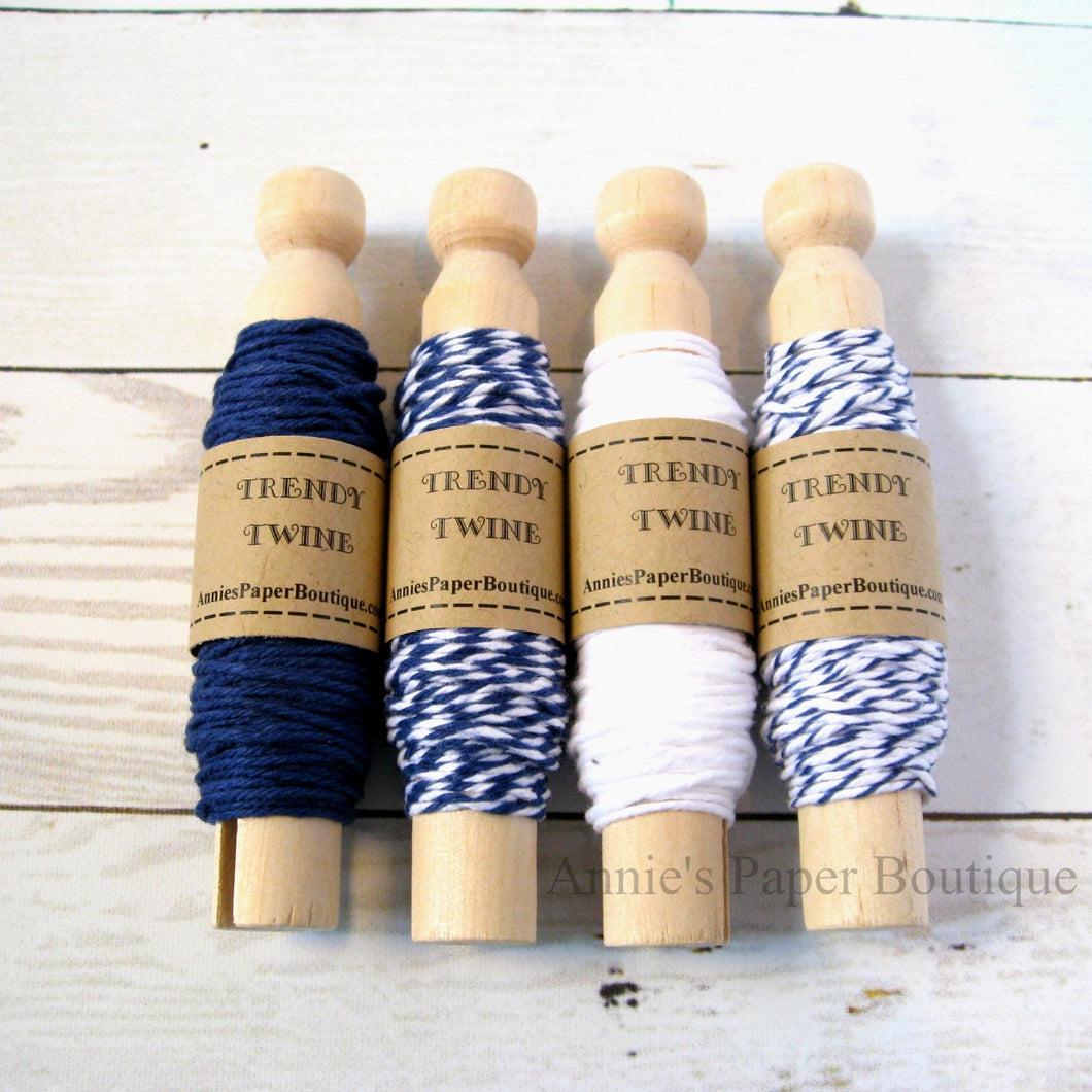 In the Navy Trendy Bakers Twine Sampler
