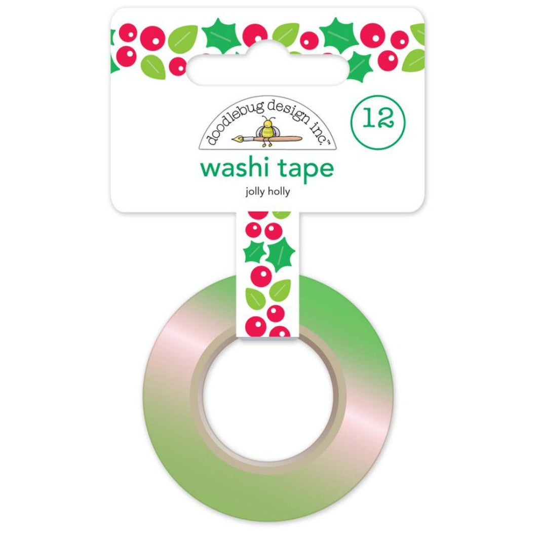 Jolly Holly Washi Tape