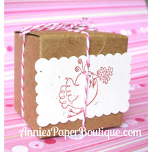 "Kraft Boxes - 2"" x 2"" Tuck Top Boxes"