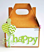 "Small Gable Boxes - 4"" x 2-1/2"" x 2-1/2"" Kraft Boxes"