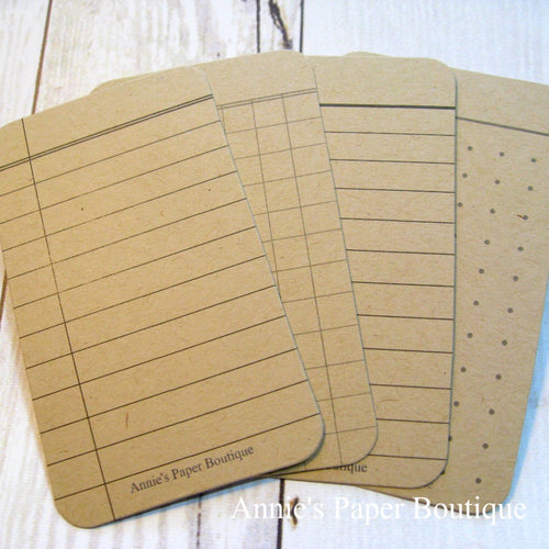 Kraft Journaling Cards