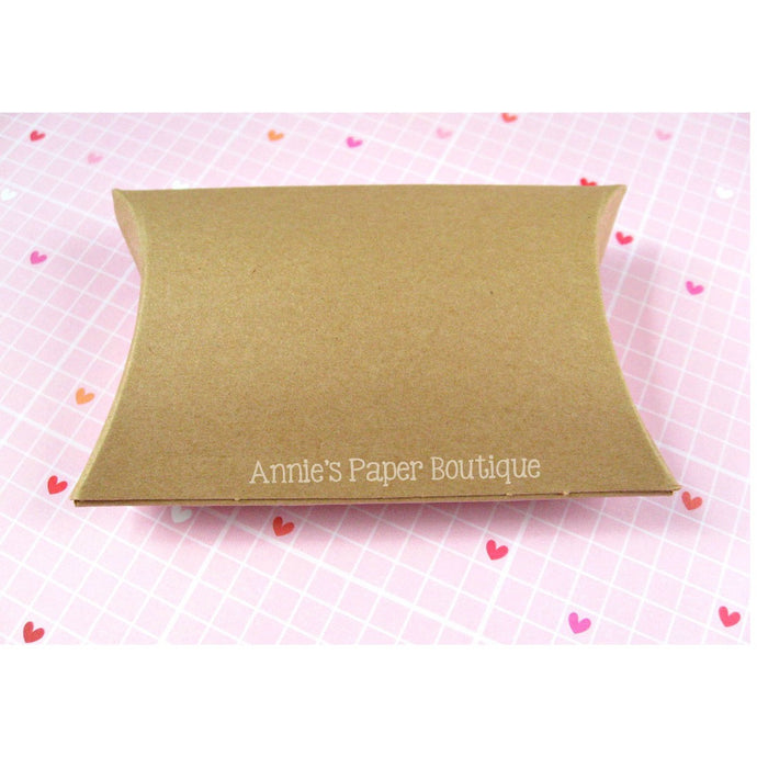 Medium Kraft Pillow Boxes - 3