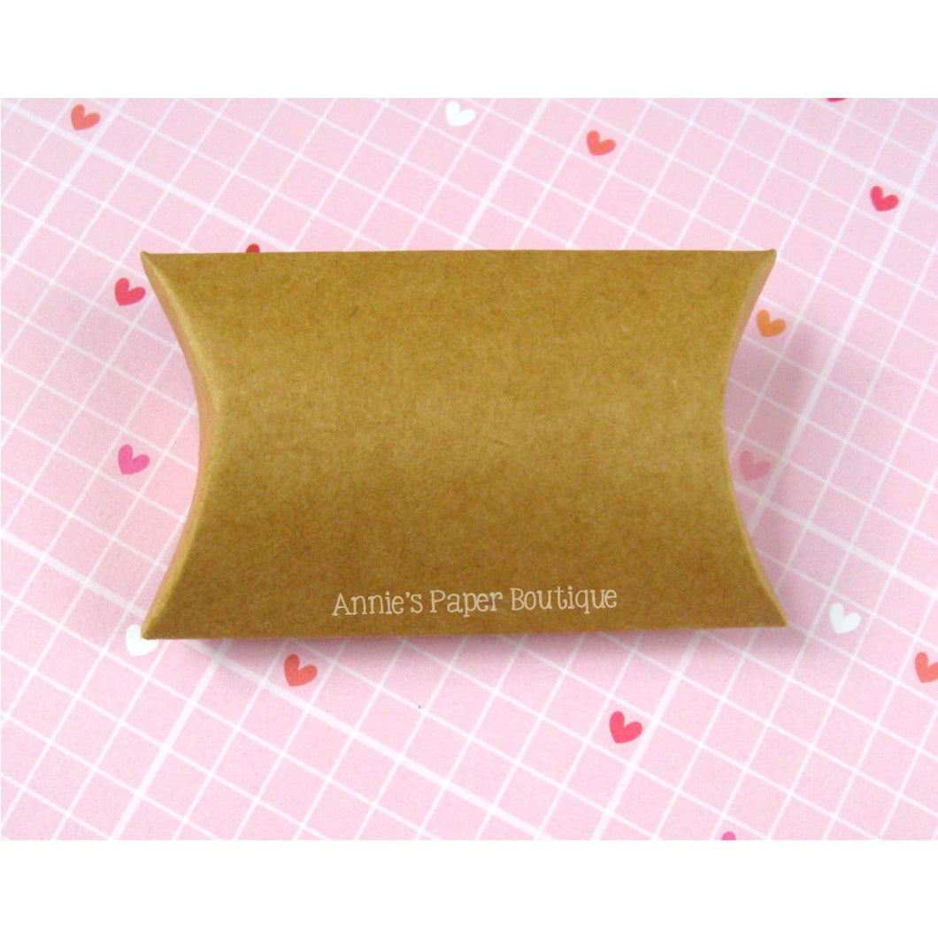 Small Kraft Pillow Boxes - 2