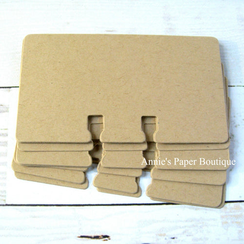 Kraft Rotary File Cards