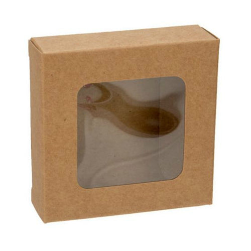 Kraft Window Boxes - 2-3/4