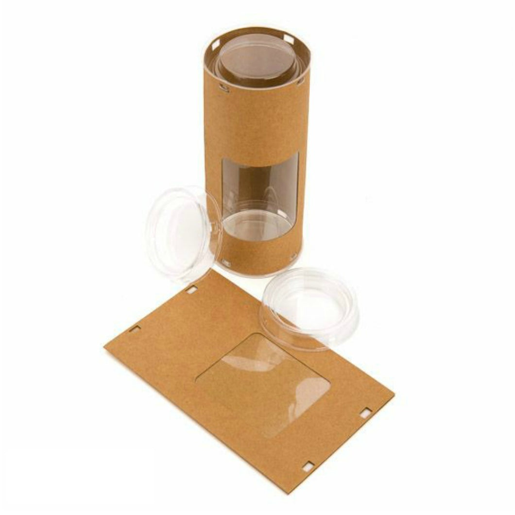 kraft window treat tubes