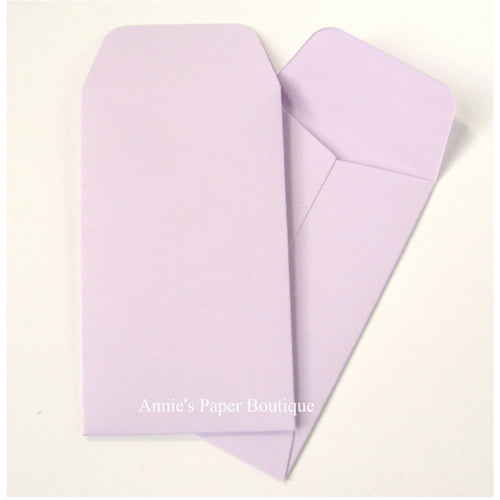Lavender Purple Mini Seed Packet Envelopes