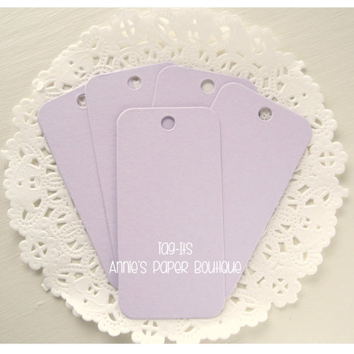 Lavender Tag-Its, Light Purple Cardstock Hang Tags