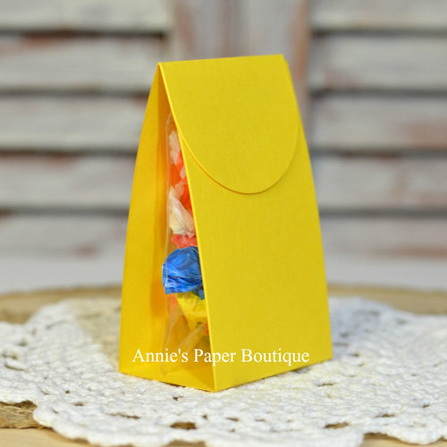 Lemon Yellow Treat Packet