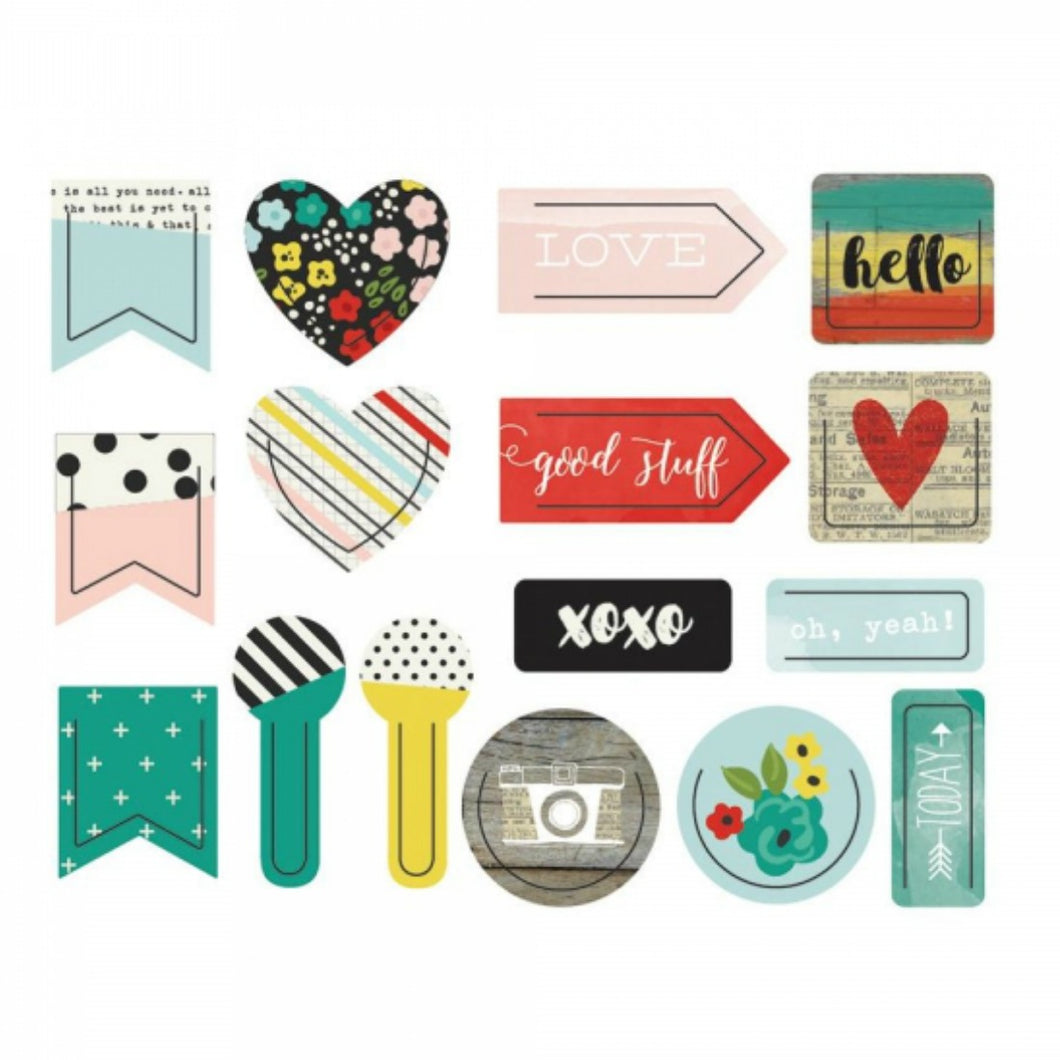 Life in Color Decorative Clips