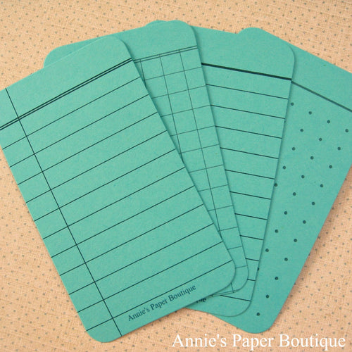 Light Teal Journaling Tags