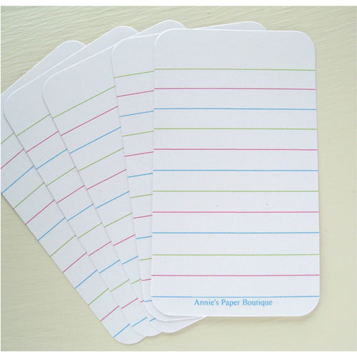 Lined Journaling Cards