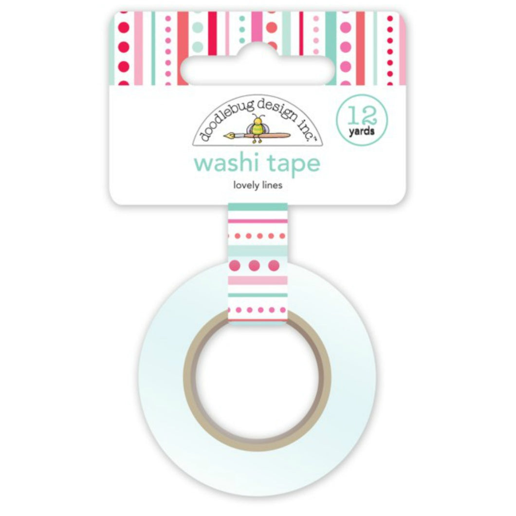 Lovely Lines Washi Tape