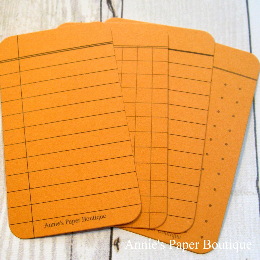 Mango Orange Journaling Cards