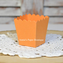 Mango Orange Mini Popcorn Boxes