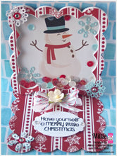 Tags using Merry & Bright Christmas Stamp Set
