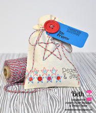 Treat Bag using Merry Christmas Stamp Set