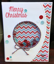 Shaker Card using Merry Christmas Stamp Set