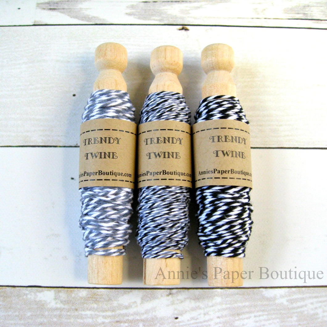 Midnight Trendy Bakers Twine Sampler