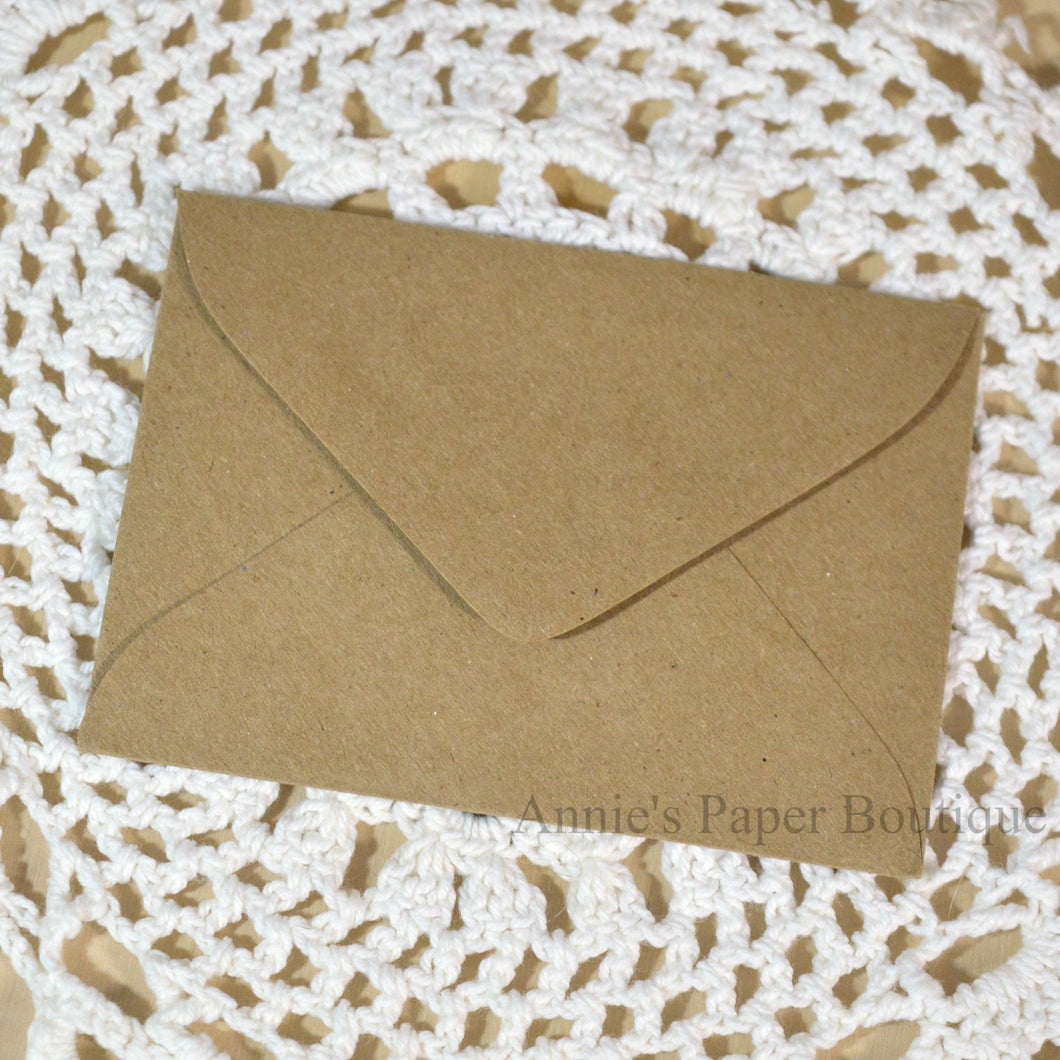 Kraft Small Envelopes