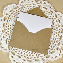 Scallop Note Card with Small Envelope