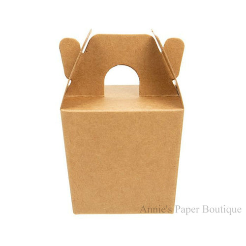 Mini Kraft Take Out Boxes - 2-1/4