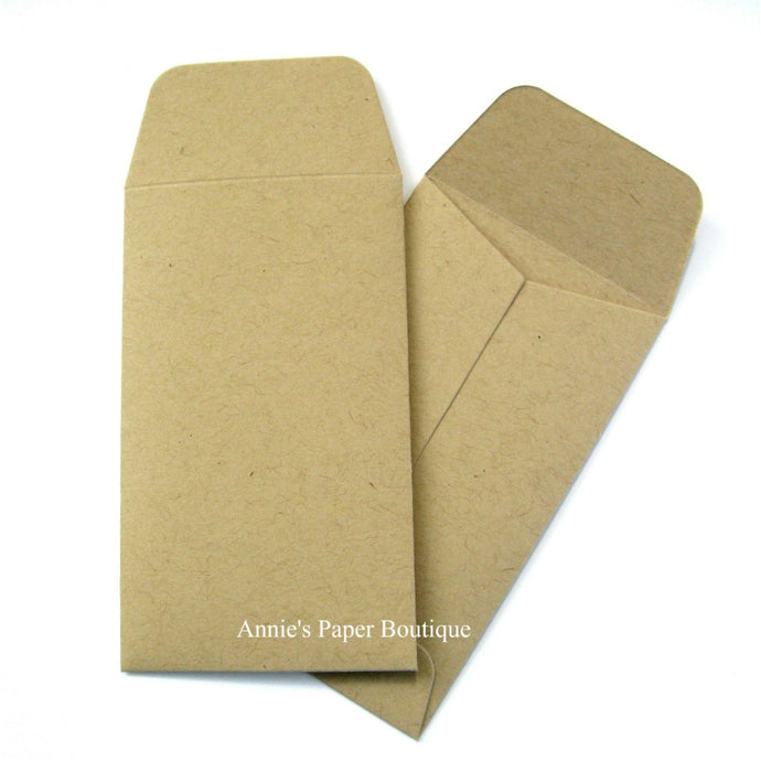 Kraft Mini Seed Packet Envelopes