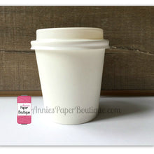 Mini Cups, 4 Ounce Paper Cups