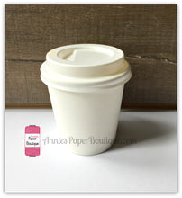 Mini Cups - 4 Ounce White Paper Cups