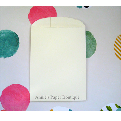 Paper Pockets - Natural White