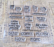 Need Coffee Planner Stamps