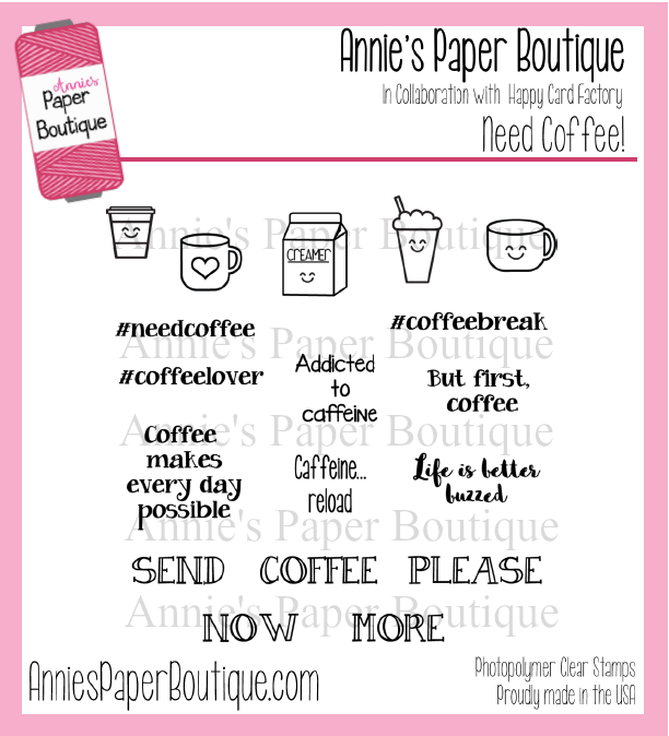 Need Coffee Planner Stamps - 4x4 - Caffeine, Coffee Lover, Buzzed ...