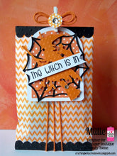 "Orange Chevron Treat Bags - 3-1/4"" x 5-1/8"" Paper Bags"