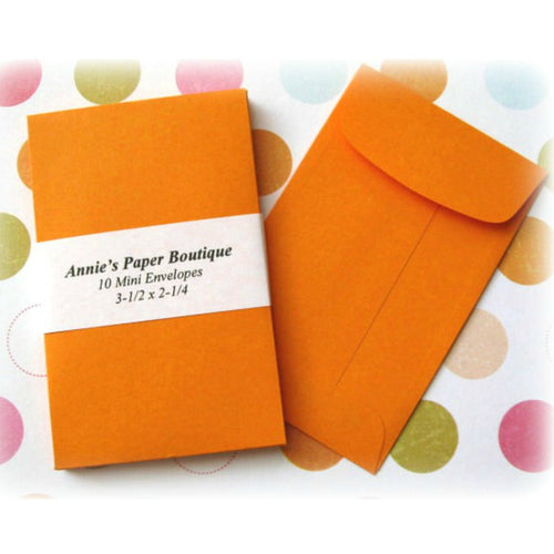 Orange Coin Envelopes