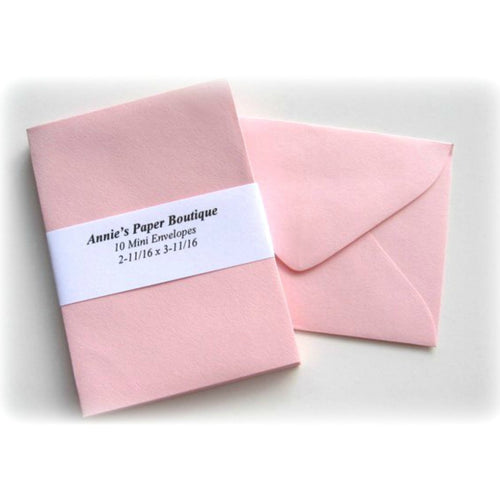 Light Pink Small Envelopes