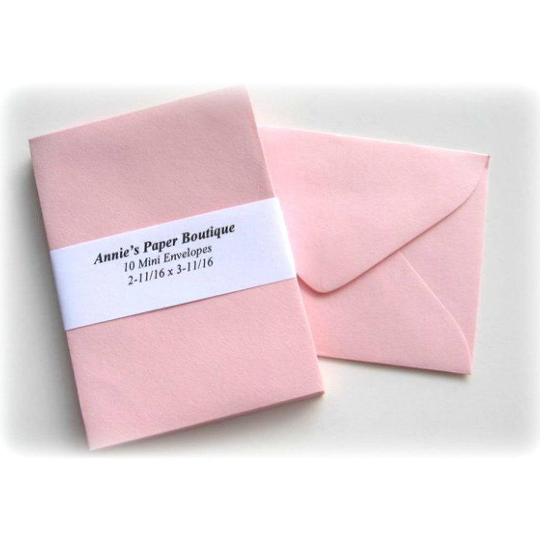 Light Pink Mini Envelopes